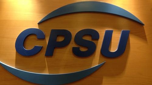 The CPSU represents 14,000 lower grade civil servants