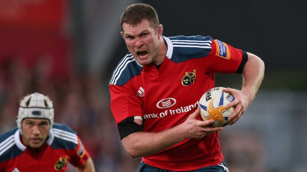 Donnacha Ryan has recovered from strained ligaments in his left knee