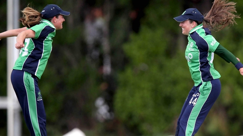 Cecelia Joyce (r) and sister Isobel are both in the Ireland squad