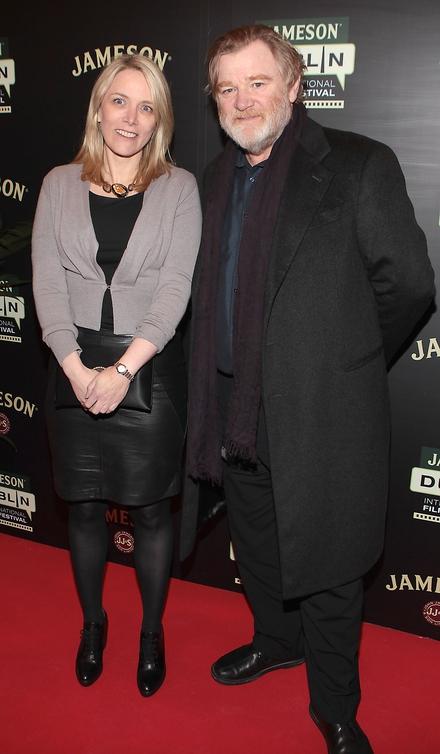 Anna Malmhake and Brendan Gleeson