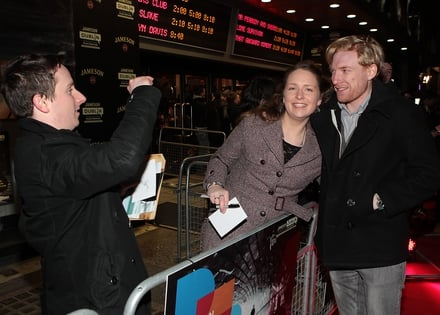 Domhnall Gleeson meets the fans
