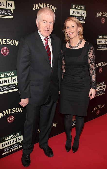 Minister for Arts, Heritage and the Gaeltacht Jimmy Deenihan and Jackie Ryan