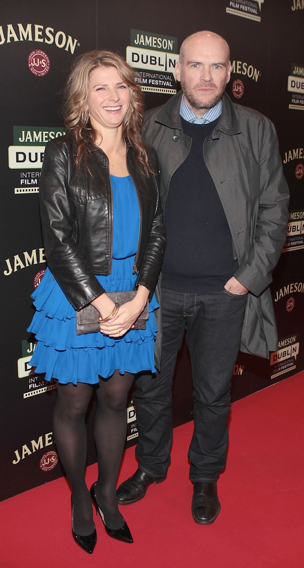 Calvary co-producer Lizzie Eves and husband John Michael McDonagh