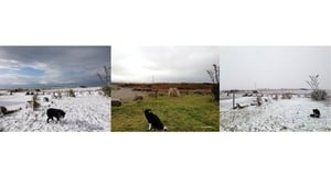 What a difference a day makes. Wednesday, Thursday and Friday in Gweedore, Co Donegal (Pic: Columbia Hillen)