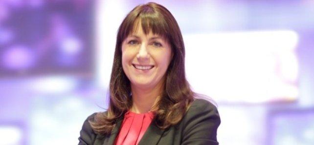 Prime Time Political Correspondent Katie Hannon at the Fianna Fáil Ard Fheis in Killarney.