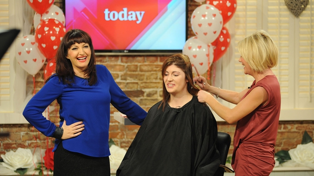Maura and Sharon during the latter's Valentine makeover