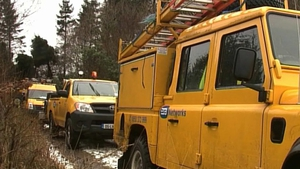 ESB crews are working to restore power to 60,000 homes