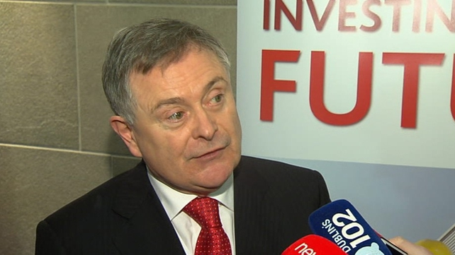 Mr Howlin said there was no tension between himself and James Reilly