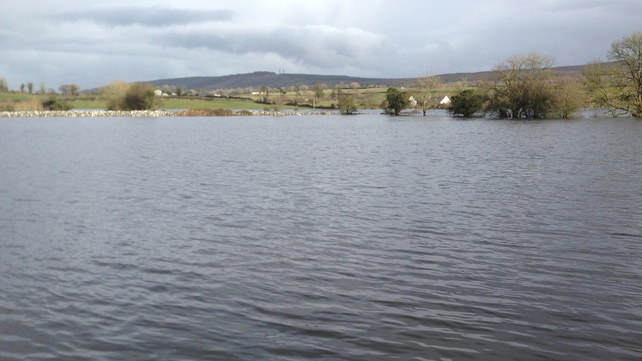 Rising water levels have caused flooding in parts of south Galway