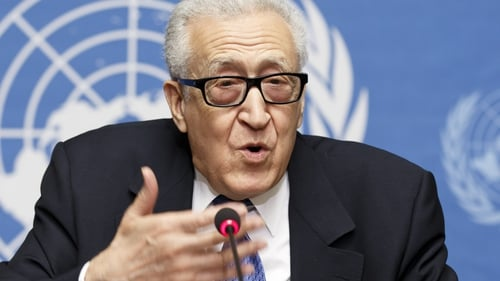 Lakhdar Brahimi said a date has not been set for a third round of talks