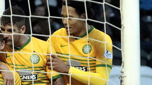 Mulgrew (l) on van Dijk: 'He's a top player and is still young, he's got plenty of time on his side'