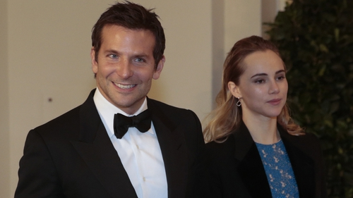 Bradley Cooper and Suki Waterhouse attend a White House dinner
