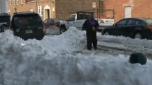 Clean-up begins after US snow storm