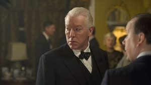 Nick Dunning stars as Malachy opposite Gabriel Byrne in Quirke