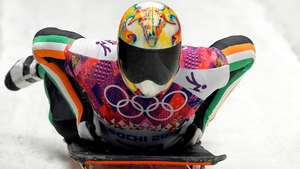Ireland's Sean Greenwood placed 27th in men's Skeleton at Winter Olympic games at Sochi