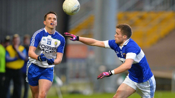 Ballinderry's Raymond Wilson and St Vincent's Shane Byrne