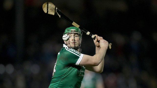 Shane Dowling of Limerick levels the scores in injury-time