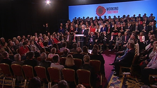 Eamon Gilmore told his party conference that 2014 may be the most important year for Ireland since the financial crisis began