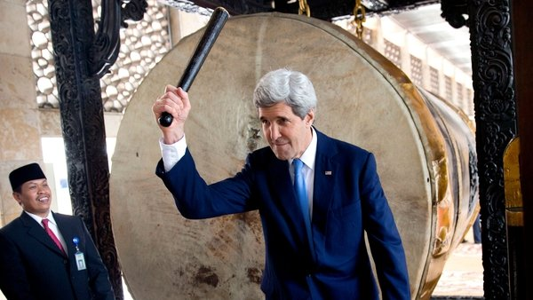 US Secretary of State John Kerry said big companies should not be allowed to 'hijack' the debate