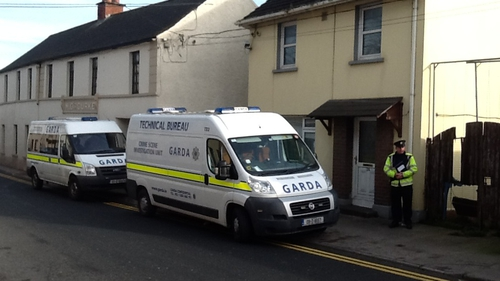 The man was found dead on Spa Street in Portarlington yesterday evening