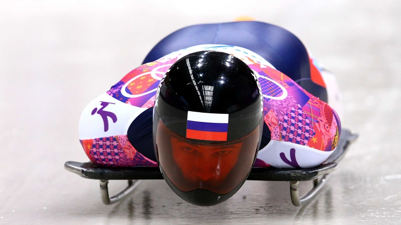 Alexander Tretiakov of Russia won gold in the Men's Skeleton