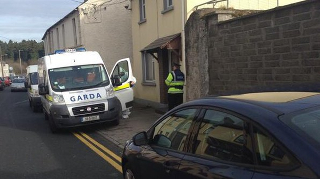 The man's body was discovered on Spa Street in Portarlington