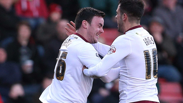 Sean Dyche: 'It was nice for Keith to get a goal. It was a great run and a great finish'