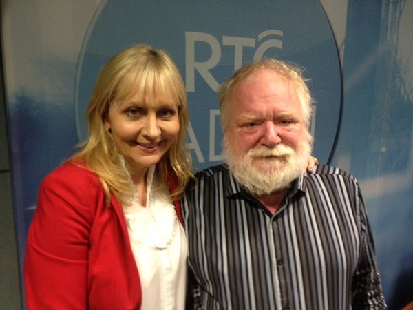 Frank McGuinness and Miriam O'Callaghan