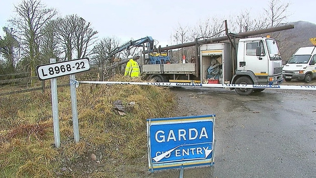 The incident happened at Adrigole on the Castletownbere to Glengarriff road