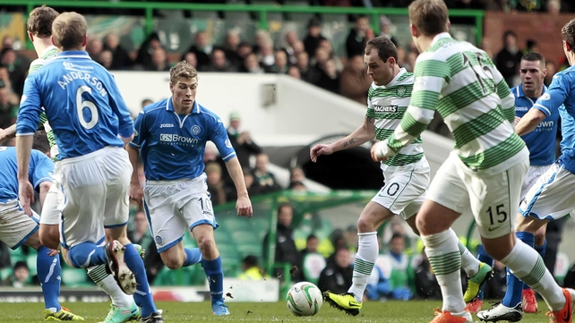 Anthony Stokes scored a hat-trick