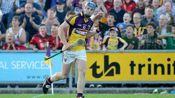Jack Guiney's accuracy from placed balls helped Wexford take the points in Ballycastle