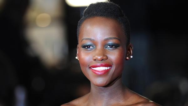 Lupita Nyong'o wows in Dior at BAFTAs