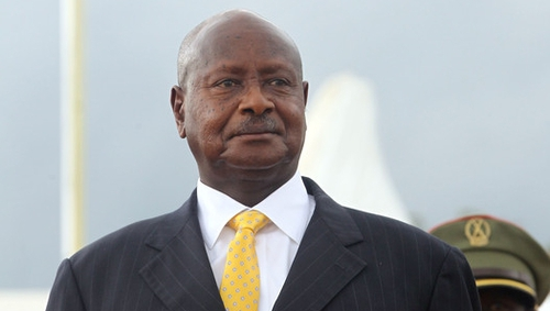 President Museveni is calling for a law which will penalise the promotion of homosexuality