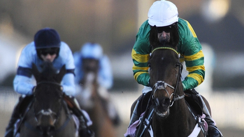 Tony McCoy riding My Tent Or Yours to victory at Kempton