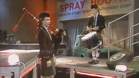World Champion Drummer Boy