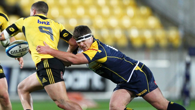 Ruaidhri Murphy in action for the Brumbies