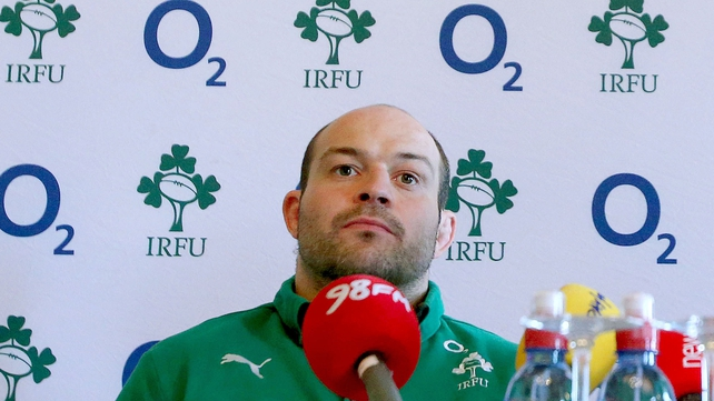 Rory Best gives his take on the upcoming clash with England at today's press conference