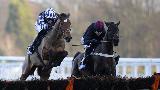 Irving (left) is a best-price 8-1 for the Supreme Novices' Hurdle