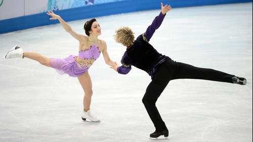 Meryl Davis and Charlie White claimed gold for the USA