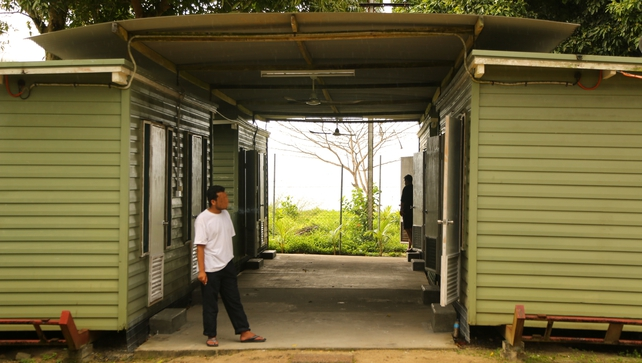 Manus Island hosts a detention centre for would-be refugees sent there after trying to get to Australia