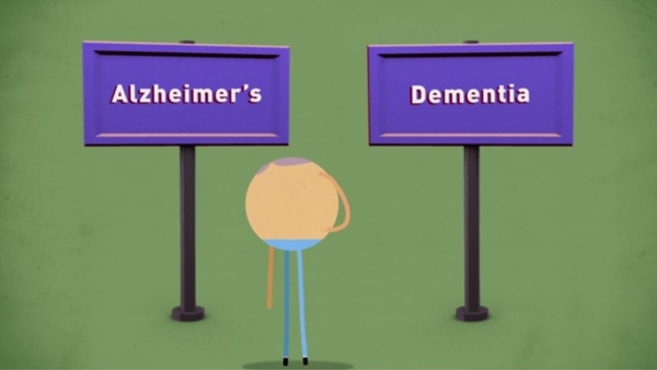 The animated films tackle common worries about memory loss and dementia