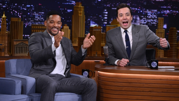 Will Smith has appeared on The Tonight Show with new host Jimmy Fallon