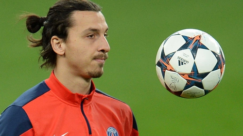 Zlatan Ibrahimovic scored eight goals in the group stage