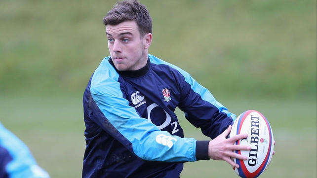 George Ford has been included in the England squad to take on Ireland