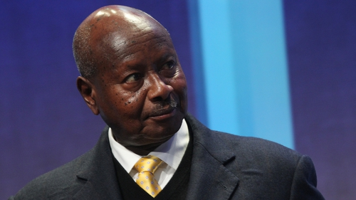 Yoweri Museveni has not said when he plans to sign the law