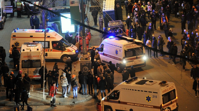 Ambulances converge on Independence Square as clashes continue