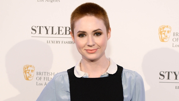 Karen Gillan stars in the horror movie Oculus