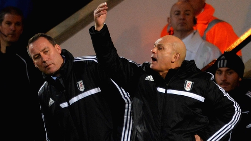 Ray Walkins left Fulham after a short spell at Craven Cottage