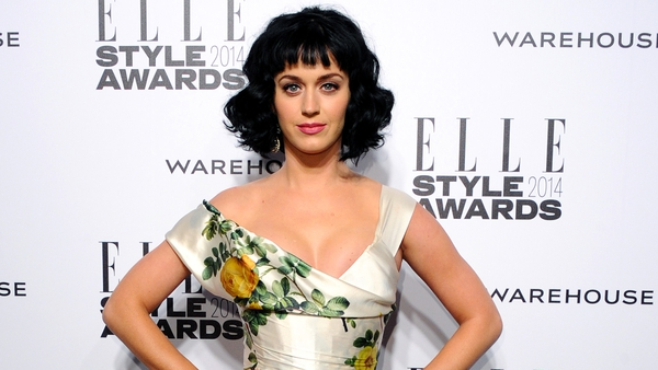 Katy Perry wins the Elle Woman of the Year Award
