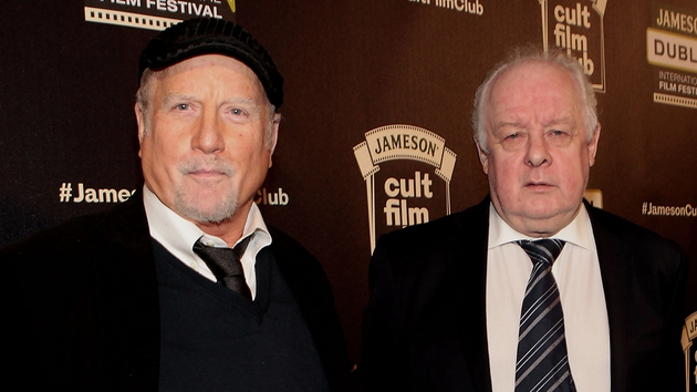 Richard Dreyfuss and Jim Sheridan in the Mansion House last night